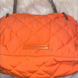 BCBGeneration Womens Neon Orange Handbag!